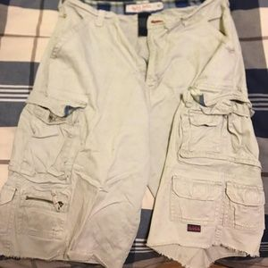Plugg Soul Surfing Cargo Shorts 33